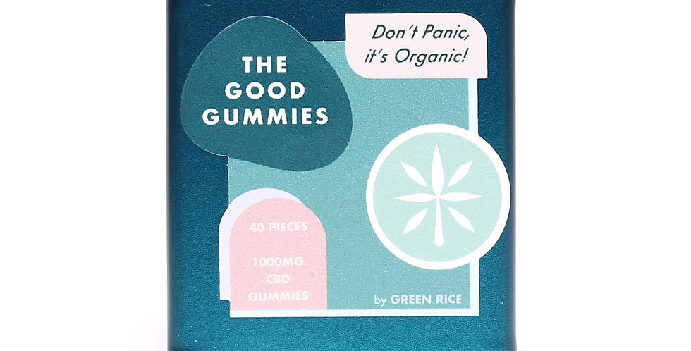 Green Rice - 1000mg The Good Gummies (40pc)