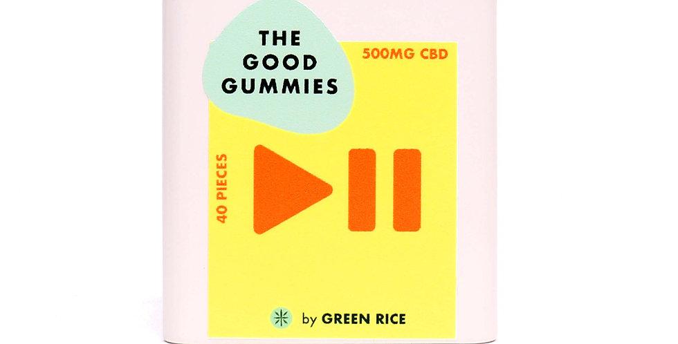 Green Rice - 500mg The Good Gummies (40pc)