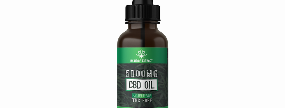 Hemp Extract - 5000mg CBD Tincture