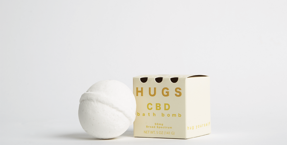 Hugs Wellness - Lemongrass Bath Bomb