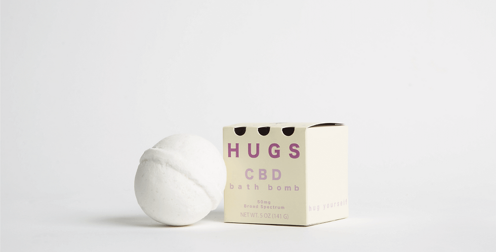 Hugs Wellness - Lavender Bath Bombs
