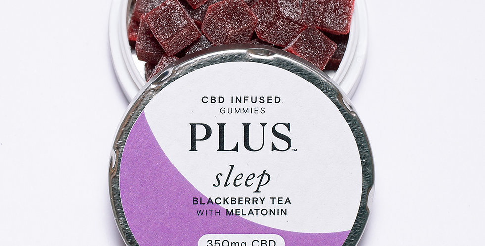 Plus - Sleep 350mg CBD Gummies