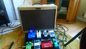 amp and pedals.JPG