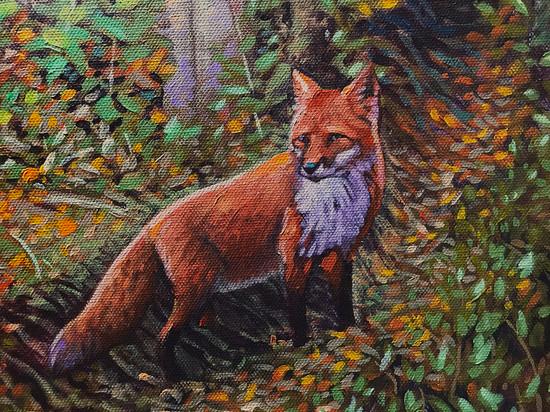 The Fox IV (Detail)
