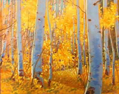 Through Birch
