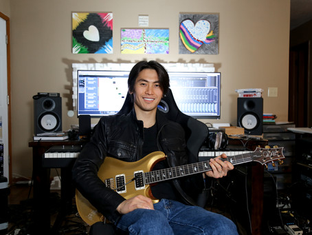 """Coming Soon - How to play """"The Love Story"""" Electric Guitar Solo - Part 1"""