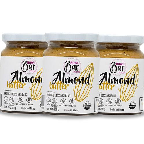 Almond Butter (Paquete de 3)