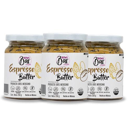 Espresso Butter (Paquete de 3)