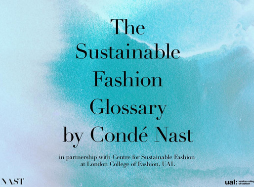The Sustainable Fashion Glossary