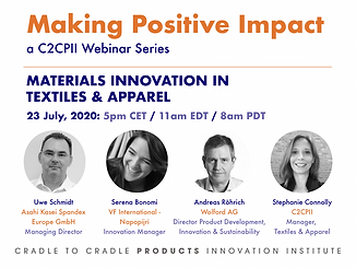 Making Positive Impact: Materials Innovation in Textiles and Apparel