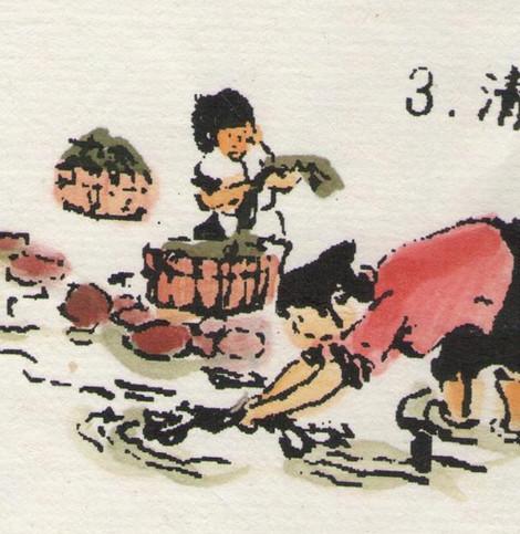 流程3清洗