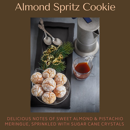 Almond Spritz Cookie Candle