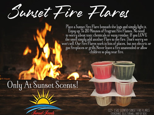 Sunset Fire Flares