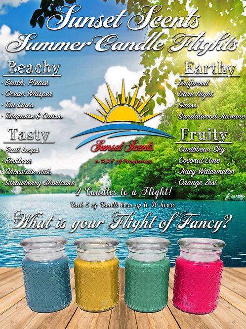 Summer Candle Flights