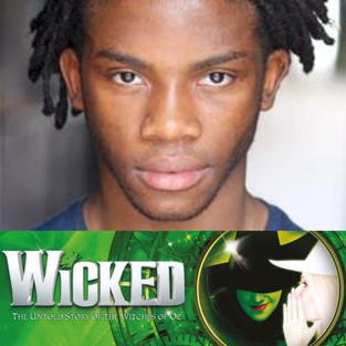 TOYNE SCOTT IN THE WEST END PRODUCTION OF WICKED!