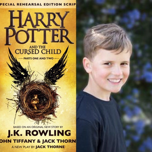 TOM QUINN ALEXANDER IN HARRY POTTER & THE CURSED CHILD