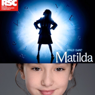 LUCIA COLEMAN APPEARING IN 'MATILDA' THE MUSICAL