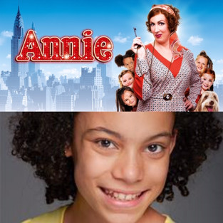 TORI RYAN CURRENTLY ON TOUR IN 'ANNIE' THE MUSICAL