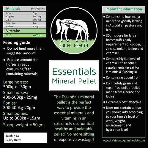 Essentials Mineral Pellets | 2.5 kilos