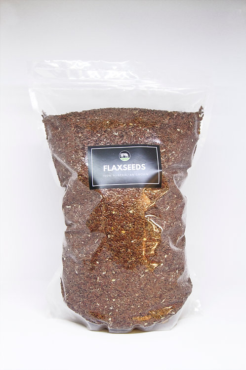 Premium quality Australian flaxseeds | 2.5 kilos