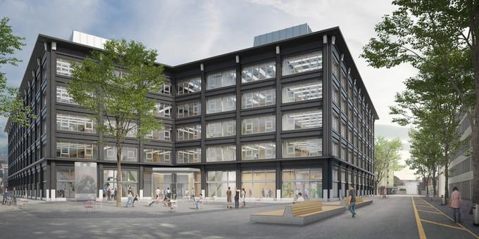 Campus Biel/Bienne der Berner Fachhochschule.