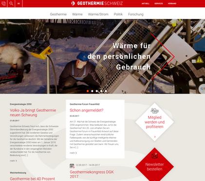 Geschäftsstelle für Geothermie-Schweiz.