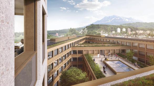 Neubau Zentrale Verwaltung Seetalplatz, Emmen Luzern.