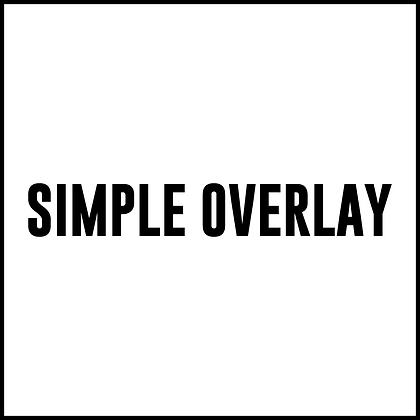 Simple Overlay