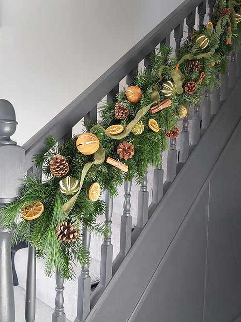 Luxury Stair/Mantle Garland - SOLD OUT