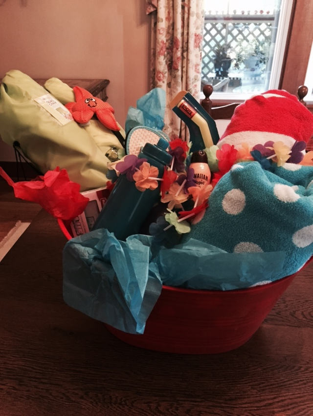 Beach Basket for Nags Head stay