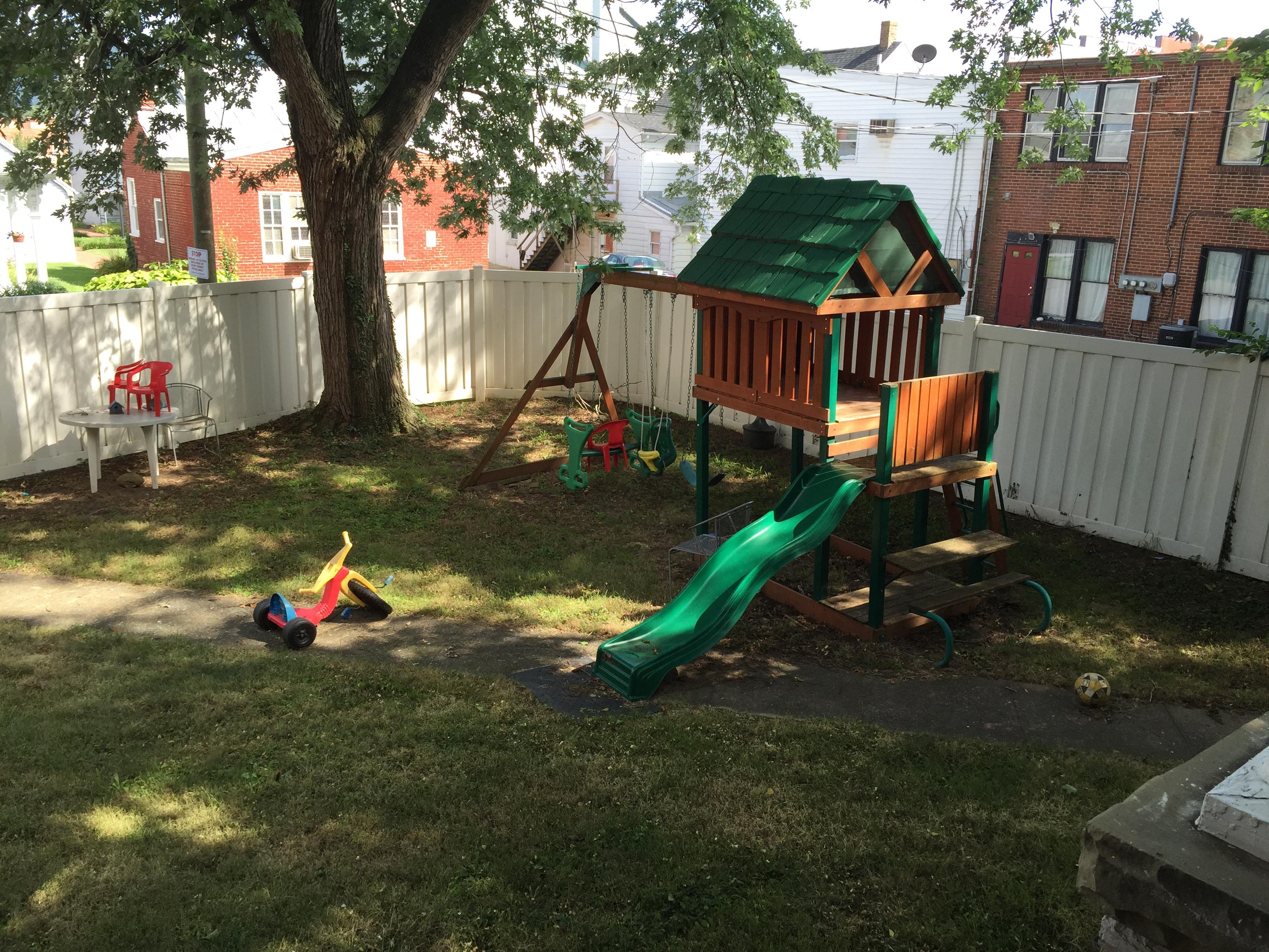 Playground before 2