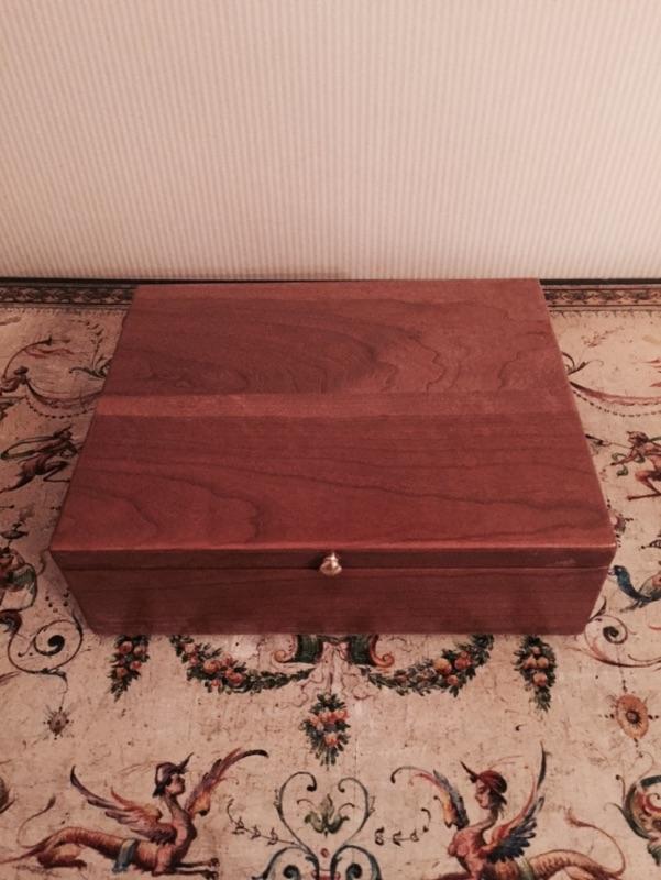 Cherry Wood Box_2