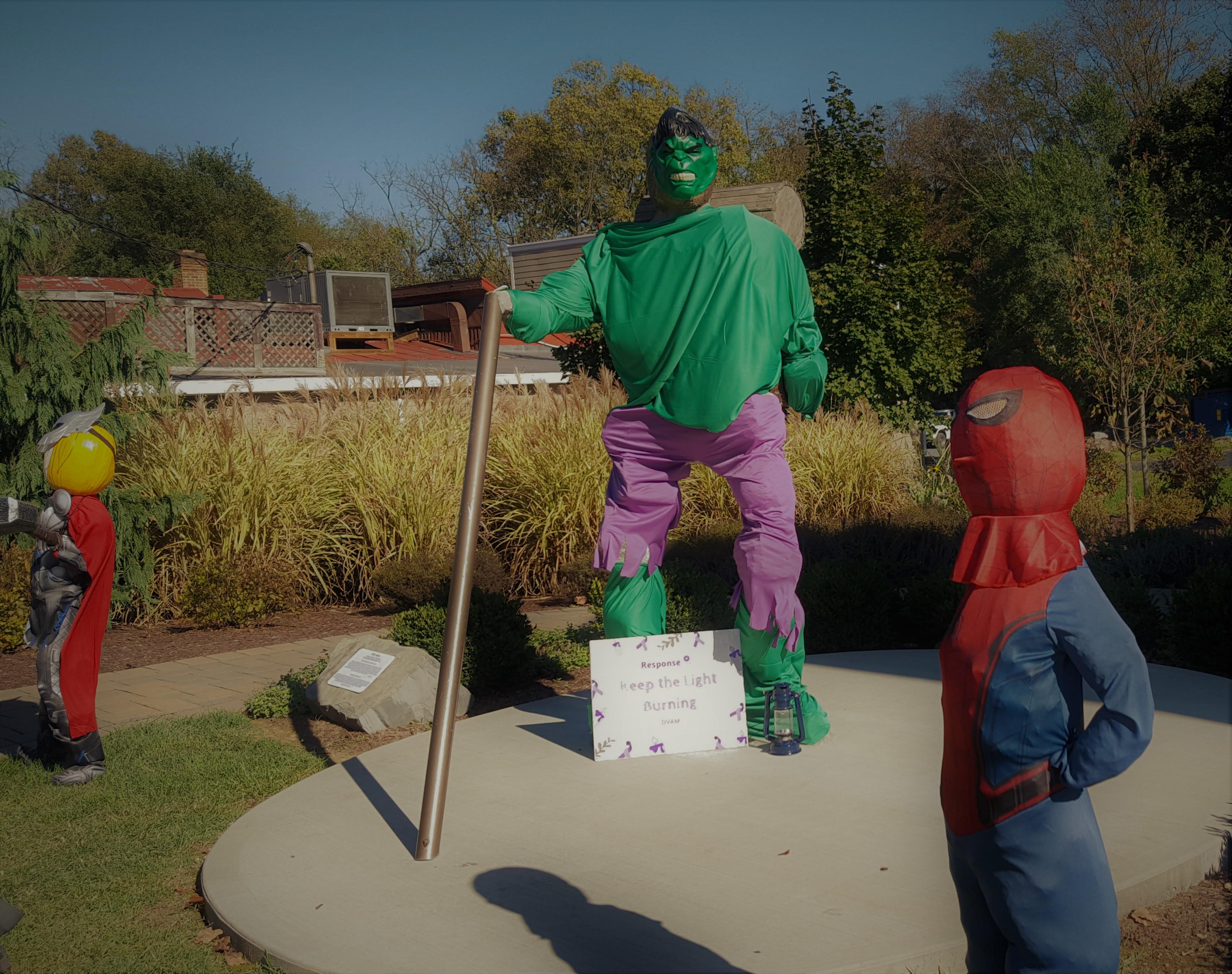 Hulk and super heroes