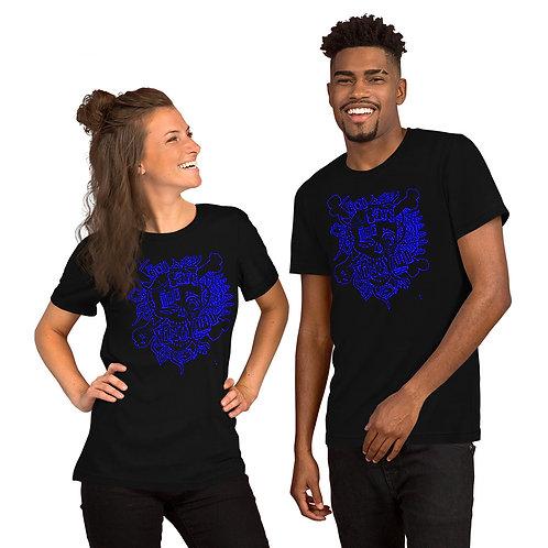 God Save The Vineyard retro shirt blue