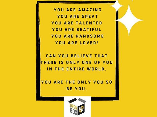 You are amazing _OPENBOX19.jpg