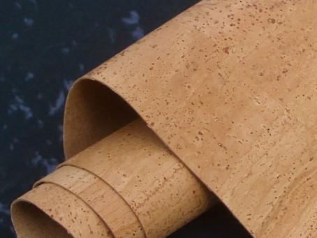 Sustainable materials: Cork Fabric.