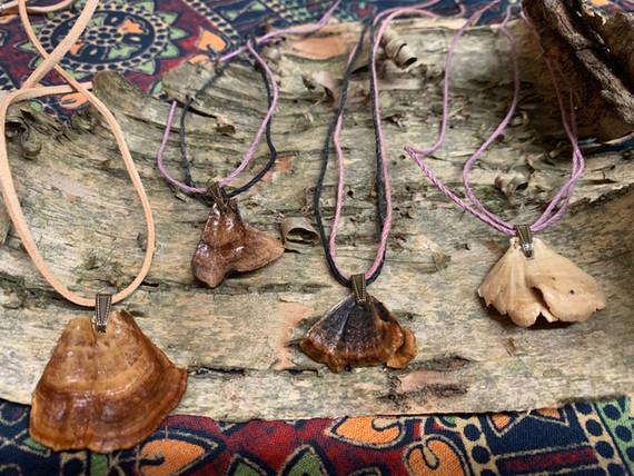 Foraged Mushroom Necklaces