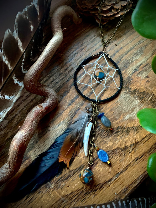 Protecting the Sacred // Dreamcatcher Necklace