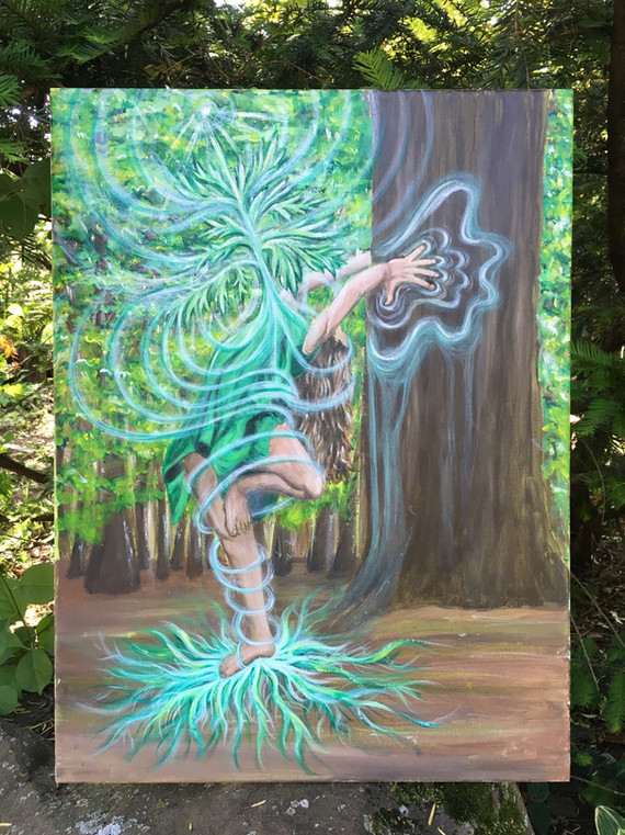 I Found my Mother within the Mugwort