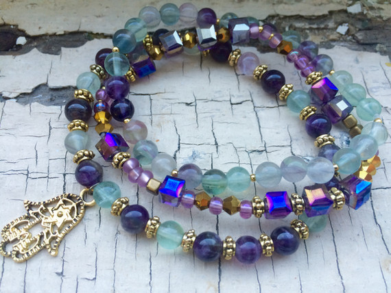 Healing Arts Hamsa Bracelet