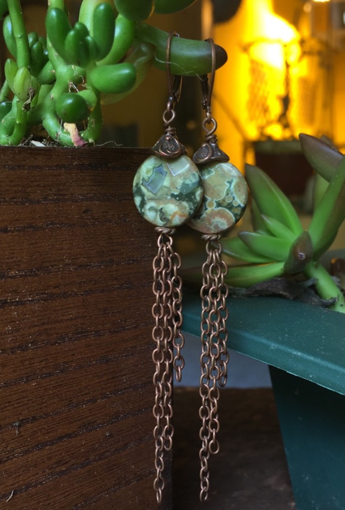 Meditative Mind Earrings