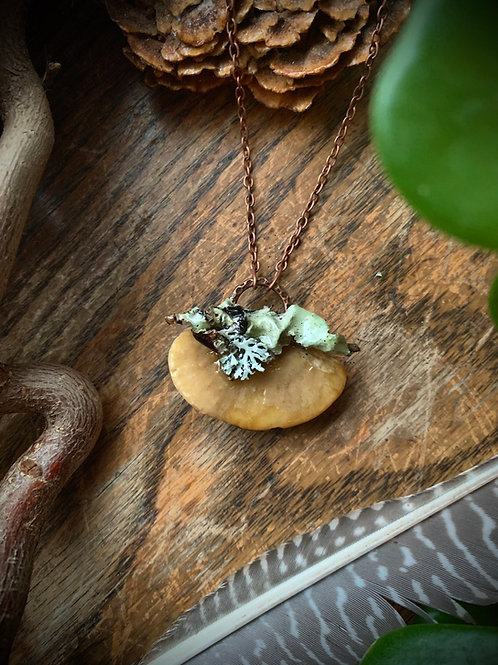 Cosmic Giggle // Mushroom Necklace