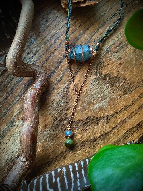 Align & Empower // Kyanite Choker Necklace