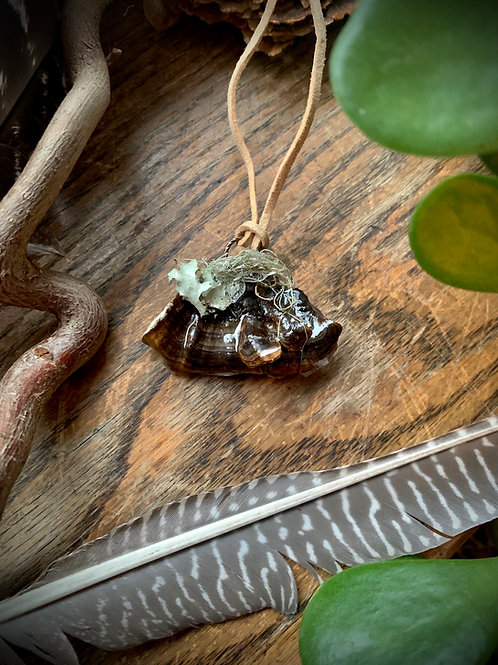 Grow & Evolve // Mushroom Necklace