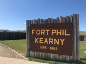 8/11/19 to 8/13/19 Deerpark Campground, Buffalo WY (Fort Phil Kearny, Fetterman Massacre Site, Wagon