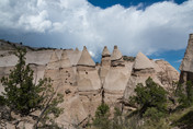 9/5/18 to 9/12/18 Trailer Ranch RV Park, Santa Fe NM;  Part 4 Tent Rocks