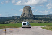 8/13/19 to 8/14/19 Devils Tower / Black Hills KOA, Devil's Tower WY Devils Tower and Prairie Dog
