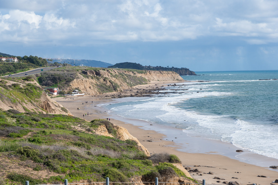 2/18/19 to 2/22/19 Crystal Cove State Park, Moro Campground, Laguna Beach CA