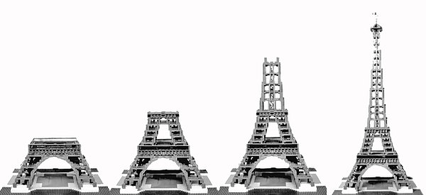 an analysis of the construction of the eiffel tower in france Correct theory explaining the eiffel tower's design revealed january 31, 2005 iosif pinelis, a professor of mathematical sciences, first became.