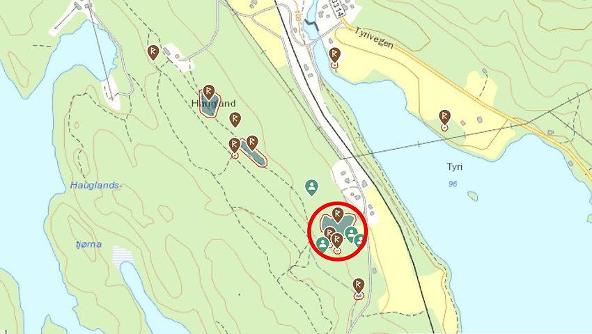Riksantivikar kart gravfeltet 3275.jpg